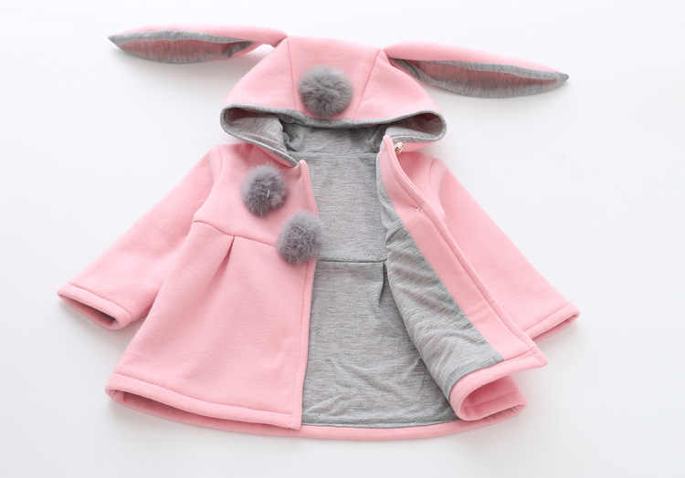 441c27ce9 Detail Feedback Questions about Cute Rabbit Ear Hooded Baby Girls ...