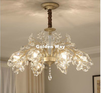 Free Shipping Vanity Modern Crystal Chandelier Lighting Fixture Luxury Modern LED Ceiling Lamp for Dining Room Restaurant Lights