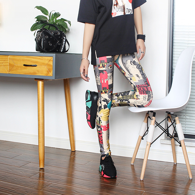 Fashion New Korean Version Of Girls Casual Fit Most Sizes Leggins Pants Trousers Woman's Leggings