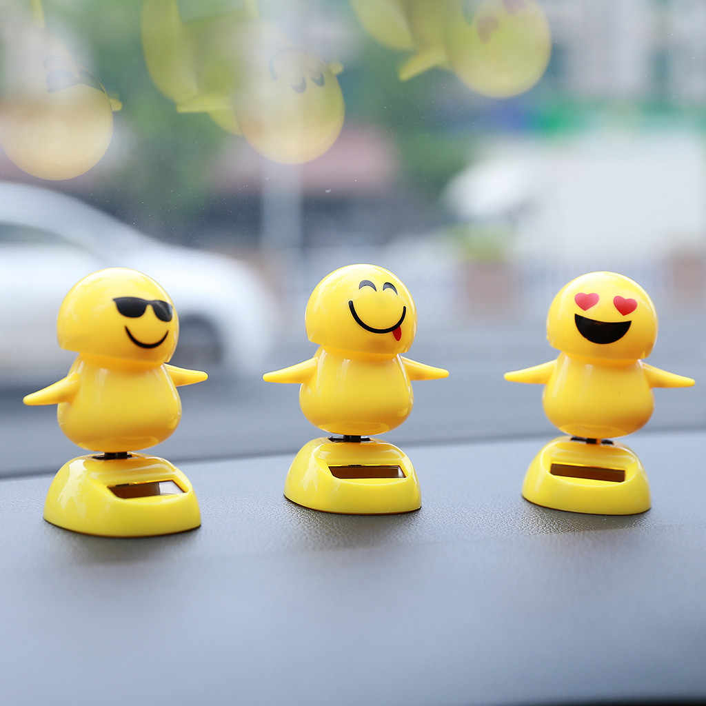 2019 Hot Solar Powered Dancing Swinging Animated Dancer Toy Car Windowsill Decoration 10.5X6X5.8cm New Drop Shipping