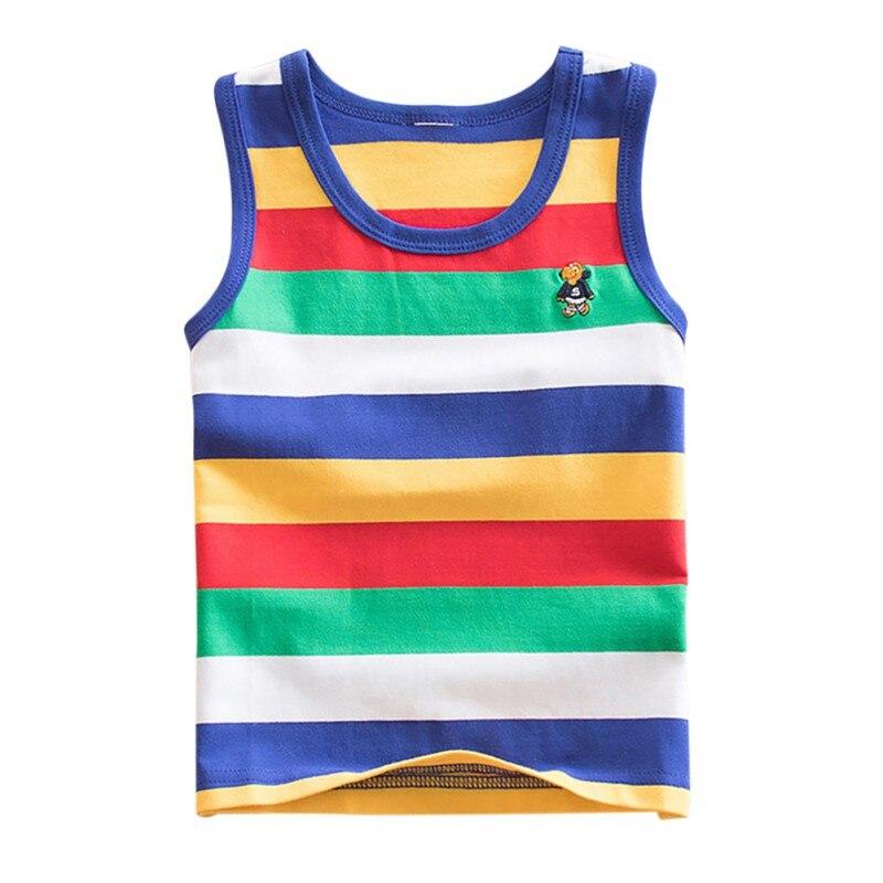 Niños ropa niños camisetas ropa interior chica niños tirantes Tank Tops de  algodón sólido de tanques 558ebf21860a