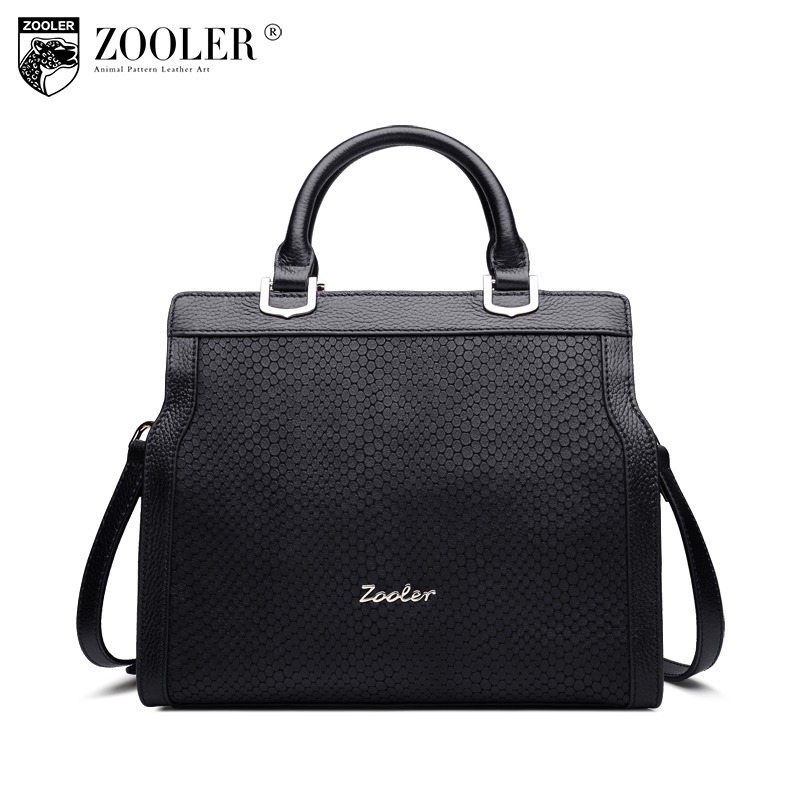 ZOOLER Brand genuine leather women purses and handbags luxury handbags women bags designer fashion style lady shoulder bag B163