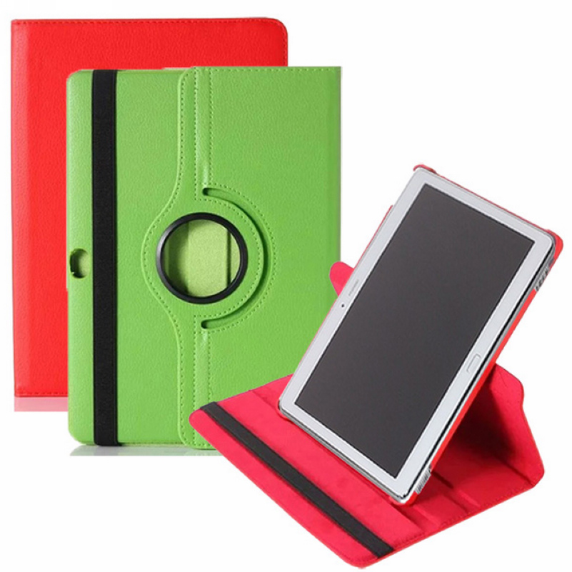 For Huawei MediaPad M2 10.0 M2-A01L / M2-A01M / M2-A01W 10.0inch Tablet Flip Pu Leather 360 Degree Rotating Case Stand Cover image