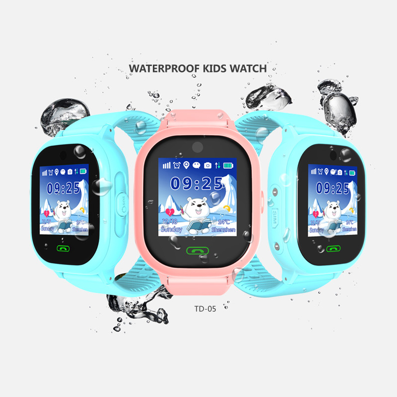 Fansaco Bluetooth Smart Watch Waterproof GPS Touched Screen For IOS Android Kids Chidren Smartwatch With Camera SOS Calls