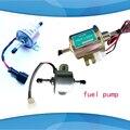 1 pc 12 V 24 v Elétrica Da Bomba de Combustível Diesel Diesel Gás Gasolina 12 Volts Universal Em Linha de Baixa Pressão Elétrica Bomba de combustível HEP-02A