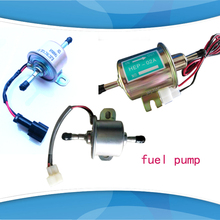 1pc 12V 24v Electric Fuel Pump Diesel Petrol 12 Volt Universal Gas Diesel Inline Low Pressure Electric Fuel Pump HEP-02A