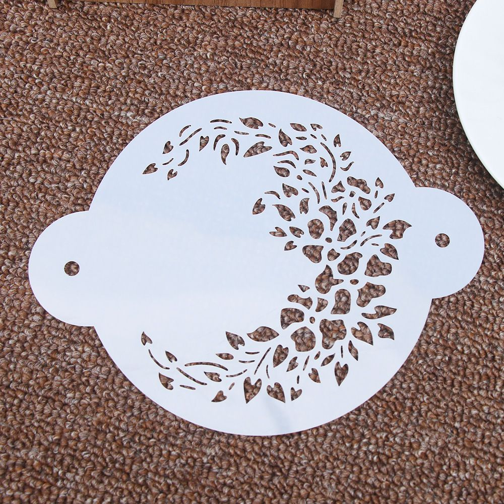 Delicate Garland Flower Reusable Stencil Airbrush Painting Art Cake Spray Mold DIY Decor Crafts