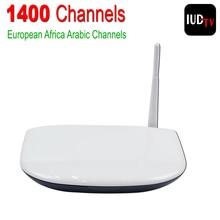 Europa Programa de Canal Sky Sport 1400 Canales Árabe IPTV Apk Servidor envío Q1304 Caja Iptv Árabe Caja de la Tv Inteligente Quad Core Android