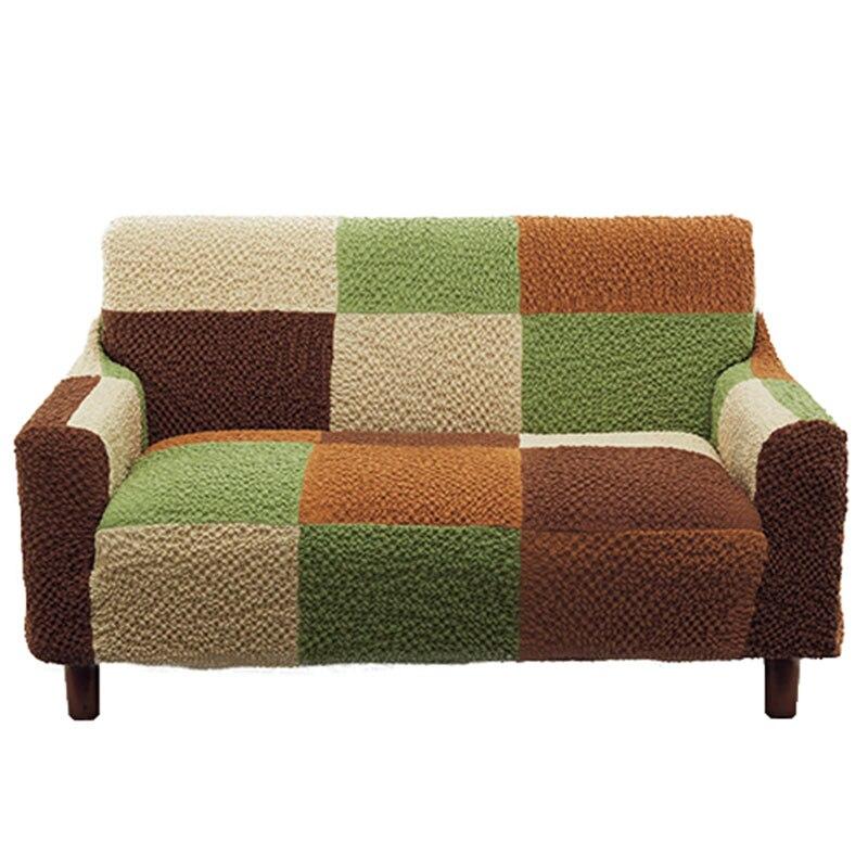 Высокое качество Эластичность сращивания решетки Чехлы для диванов все включено Four Seasons простой современной Японии Вязание Чехлы для диван