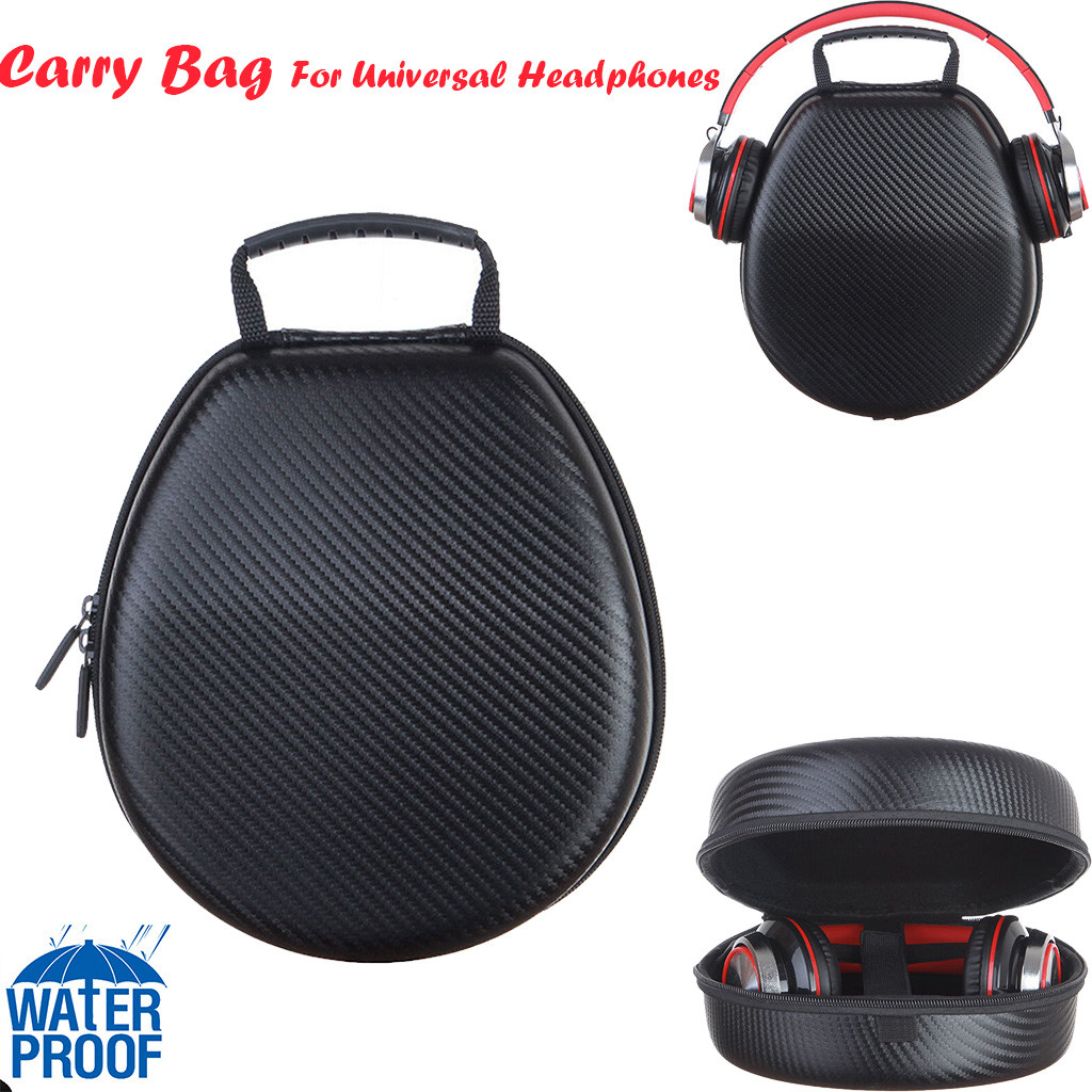 Universal Protection Carrying Hard Case Bag For Headphone Earphone Headsets 2015
