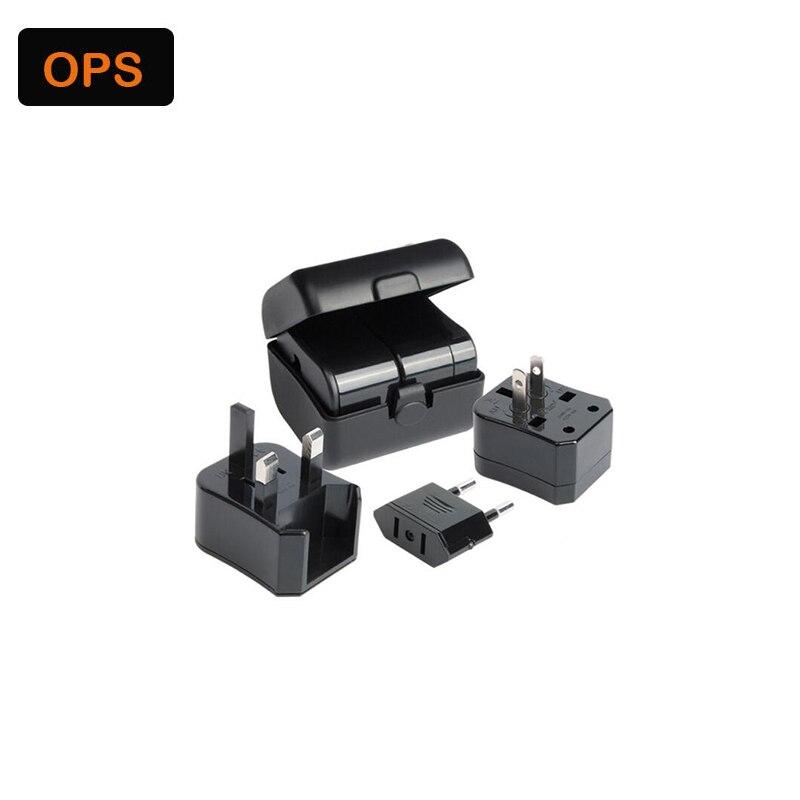 Adapter Multifunctional universal plug adapter portable travel US/EU/UK/AU Conversion plug Reizen De Bougies