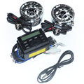 12v 15-30W Waterproof Motorcycle Audio MP3 Speaker Amplifier with FM Function Free Shipping 12001314