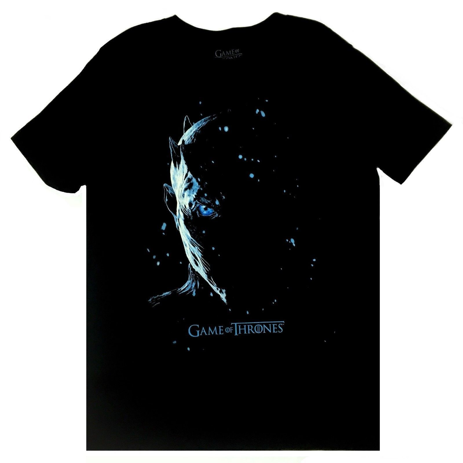 Night King Game Of Thrones T Shirt: Game Of Thrones NIGHT KING WHITE WALKER T Shirt NWT