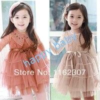 2014 New High Quality Children Birthday Party Princess Dress Girl Wedding Dress