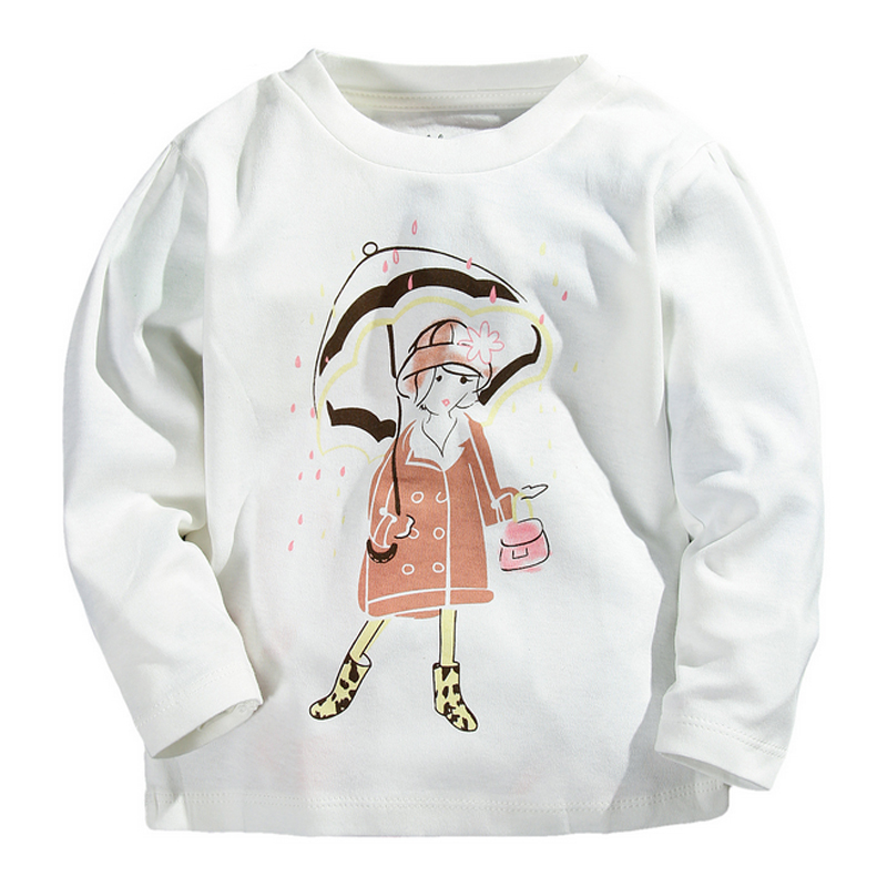 New autumn winter design children clothes kids tops baby Girl t shirts design