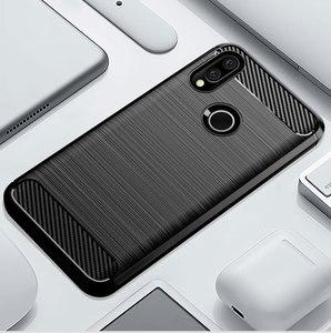Image 1 - คาร์บอนไฟเบอร์ซิลิโคนโทรศัพท์กรณีสำหรับ Xiaomi Redmi S2 y2 Y3 เส้นใยกันกระแทก TPU ปกหลัง Xiaomi RedmiS2 Redmiy2 Redmiy3 Y 3 S 2 กรณี