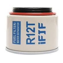 R12T Repalcement Fuel Filter/Water Separator Element for Racor 120AT 120AS NPT ZG1/4-19 Diesel Engine Man truck sedan marine цена 2017