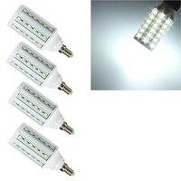 4 Sztuk Lampa LED E14 15 W 5730SMD Kukurydza Żarówka 220 V Led Lampy Świeca AA