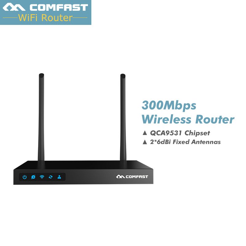 COMFAST CF-WR615N 300Mbps Wireless Wifi Router 128DDR AC Authentication Wireless Router with 2*7dBi wifi antenna & 5*RJ45 port