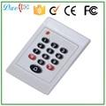 125 khz WG26 bits pin schlüssel bord kontaktlose weiß kartenleser mit türklingel funktion-in Kontrolle-Kartenleser aus Sicherheit und Schutz bei