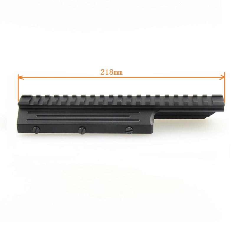 Tacticle Scope Mount Picatinny Rail Low Profile voor FN FAL Rifle Series Mnt-981 M8593 Metalen CNC VI05046