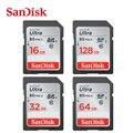 Sandisk Ultra 80 МБ/с. C10 32 ГБ SDHC/SDXC Оригинальные Карты Памяти SD 128 ГБ 64 ГБ 32 ГБ 16 ГБ Бесплатная Доставка