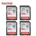 Sandisk Ultra 80MB/s C10 32gb SDHC/ SDXC Original Memory SD Card 128GB 64gb 32gb 16gb Free Shipping