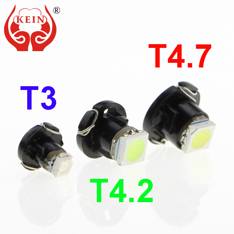 KEIN T3 T4.2 T4.7 LED Neo Wedge Switch Radio Climate Control Bulb Instrument Dashboard Dash Indicator Light Bulb Ac Panel Bulb