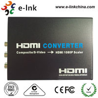 Composite video and S video to HDMI Converter