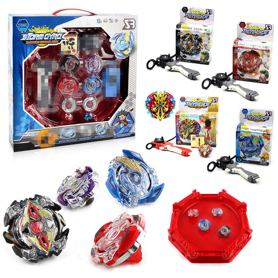 New 4pcs set Beyblade Arena Spinning Top Metal Fight Beyblad Beyblade Metal Fusion Children Gifts Classic
