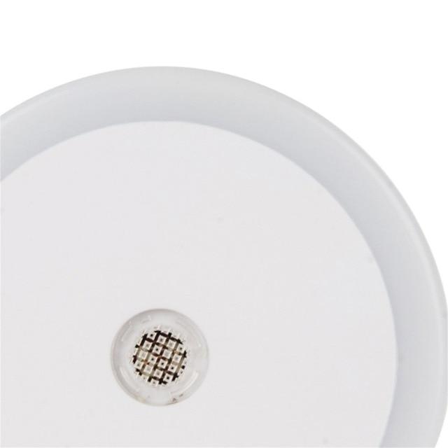 ITimo LED lampka nocna z podwójnym portem USB 5V 1A kontrola czujnika światła pokój oświetlenie domu wtyczka kinkiet ue/gniazdo wtykowe usa lampa