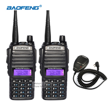 Portable Walkie Talkie Pair Baofeng uv-82 Dual Band 136-174/400-520MHz FM Two Way Radio CB Ham Radio Communicator HF Transceiver