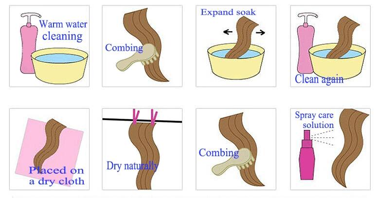sintética para preto feminino africano americano cabelo