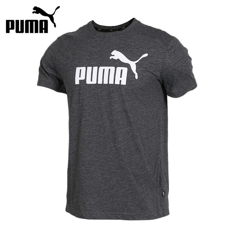 Original New Arrival 2019 PUMA ESS Heather Tee Men s T shirts short sleeve Sportswear