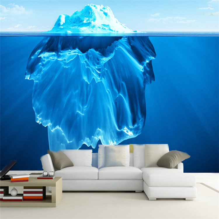 Buy the last iceberg wallpaper custom 3d for Art mural wallpaper