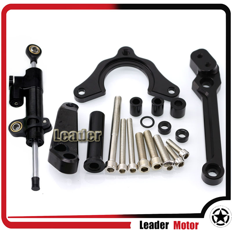 For <font><b>KAWASAKI</b></font> Z900 <font><b>Z</b></font> <font><b>900</b></font> <font><b>2017</b></font> 2018 2019 Motocrycle Accessories Street Bike Steering Damper Mounting Kit Stabilizer Adjustable image