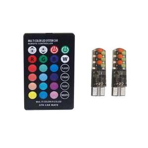 Universal Car RGB LED 12V T10