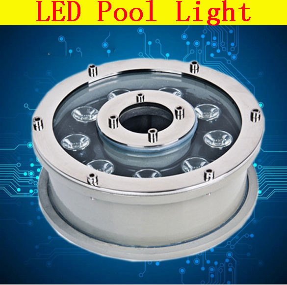 Factory Direct Sales 6w Round Underwater Led Light Dc 24v Waterproof Ip67 Swimming Pool Lights Ce Rohs Pond Lamps Fountain Lamp Led Lamps