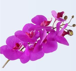 Artificial Orchid Flowers Real Touch Artificial Butterfly Orchid flores artificiales Wedding decoration home Festival Decoration