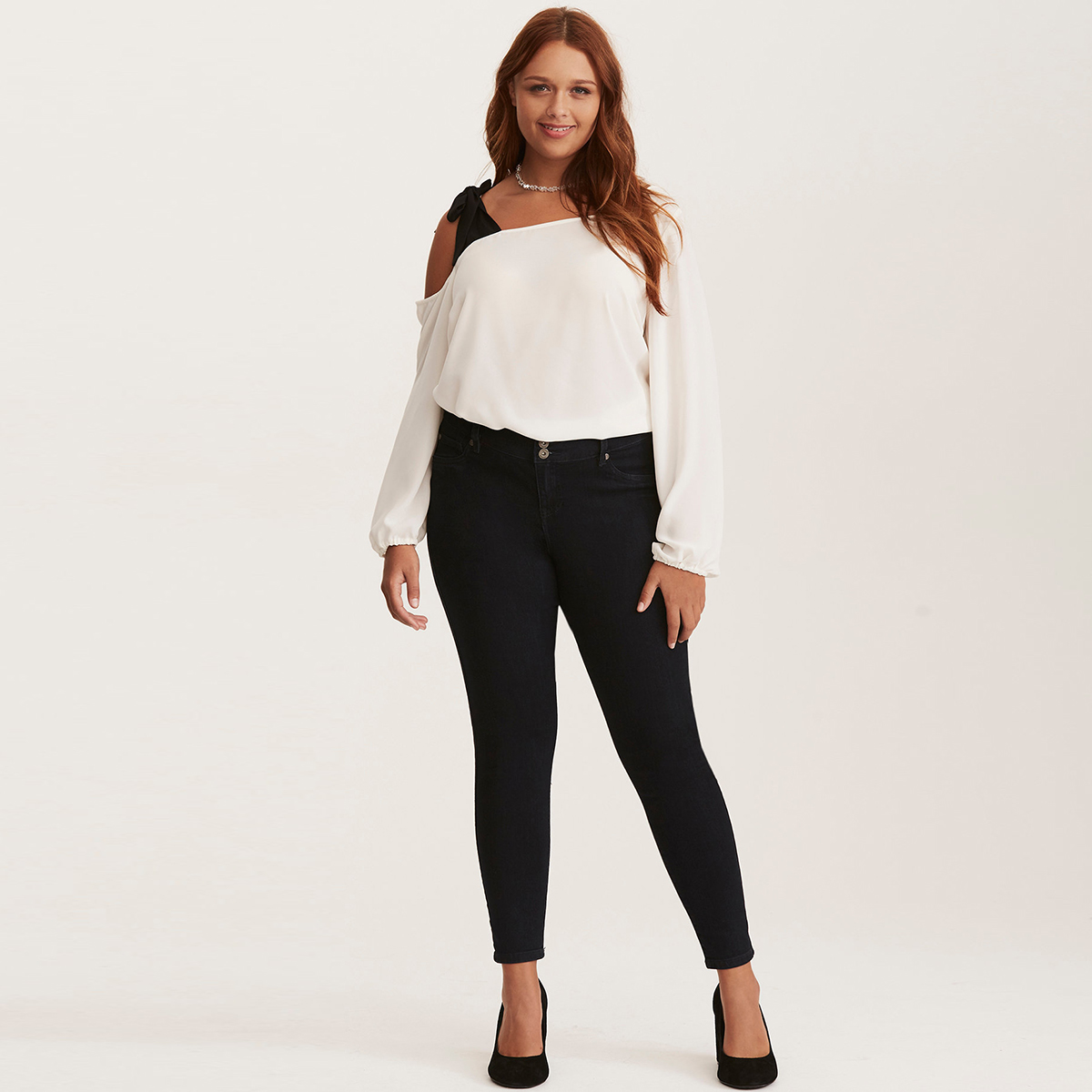 MCO 2018 Spring Sexy Tie One Shoulder Plus Size Women Top Fashion Office Ladies Oversized Blouse Basic OL White Tops 5xl 6xl 7xl 3
