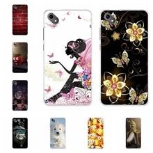 For BQ S 5035 Velvet Phone Case Soft TPU Silicone Cover Cute Cartoon Pattern BQ-5035 Shell