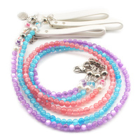 Armi Store Fashion Bead Dog Lead Stable Dogs Cat Princess Leashes 6043019 Pet Collar Accessories