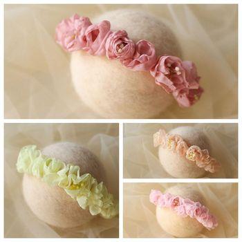 Acessórios para o cabelo do bebê para a fotografia adereços atirar fleur flor Bandeau bebê menina headwear newborn headband menina acessórios