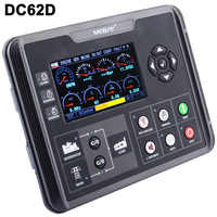 "DC60D/DC62D Generator Set Controller for Diesel/Gasoline/Gas Genset Parameters Monitoring With 4.3"" LCD Screen Display"