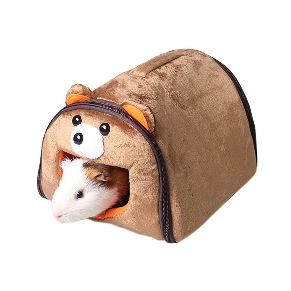 High Qaultiy Short Plush Small Animal House 5 Style Guinea Pigs Hamsters Squirrel Hedgehogs Rabbits Dutch Bed