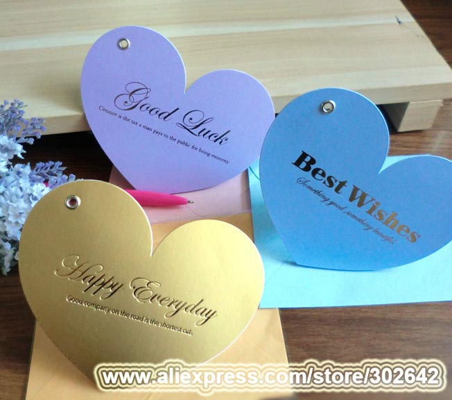 Business card size gift tags images card design and card template business cards 40pcs greeting card 2 sizes peach heart universal business cards 40pcs greeting card 2 reheart Choice Image