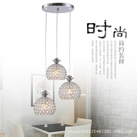 סיטונאי מודרנית גביש האופנה מנורת Creative Led מנורת מסעדת מנורת חדר אוכל המודרני מינימליסטי מנורת שולחן בר אישיות
