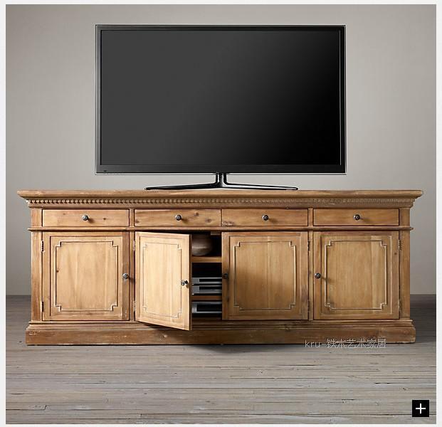 Vintage mobile tv in legno | fare il vecchio mobile tv in legno ...