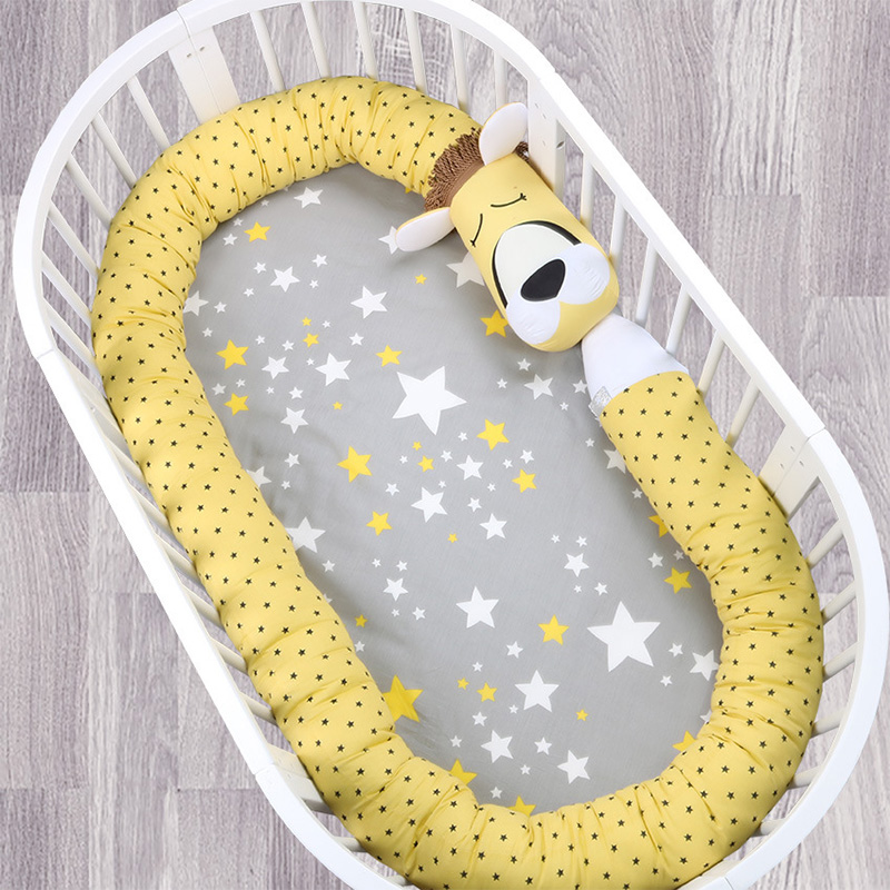 Cute Cartoon Babies Cushion 330CM Extended Baby Comfort Pillow Baby Bed Bumper Crib Bumper Lovely Zebra Fox Unicorn BumpersCute Cartoon Babies Cushion 330CM Extended Baby Comfort Pillow Baby Bed Bumper Crib Bumper Lovely Zebra Fox Unicorn Bumpers