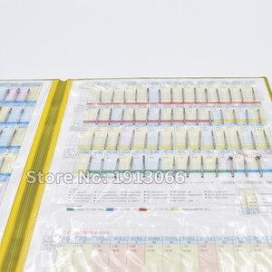 Image 3 - חדש יהלומי ספחת מדגם ספר 154 מודלים/pcs יהלומי ספחת קטלוג שיניים חומר מעבדת שיניים ציוד FG burs